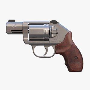 3D model revolver kimber k6s