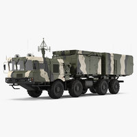 mobile radar station 96l6 3D