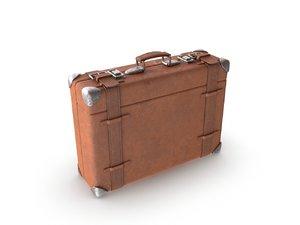 suitcase modeled 3D model