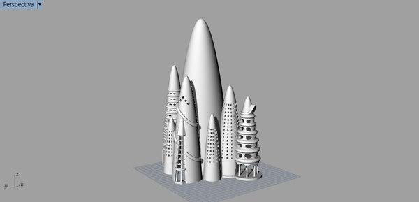 grand hotel gaudi new york 3D model
