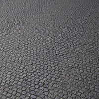 pavement cobblestone 3D