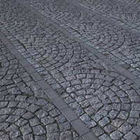 pavement cobblestone model