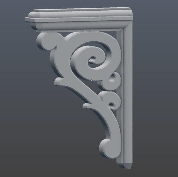 11 corbel 3D model