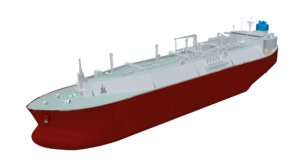 3D lng carrier membrane type