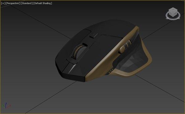 logitech mx maste 3D model