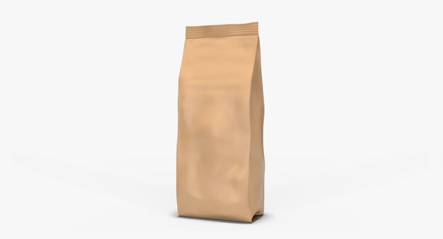 brown bag 9x26 cm model