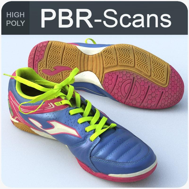 sneaker scans model