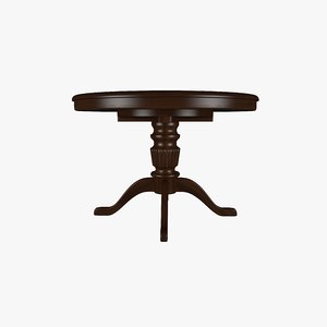 3D classic table