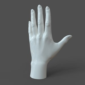 left hand casual 3D