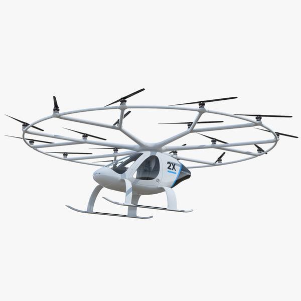 volocopter 2x 3D model