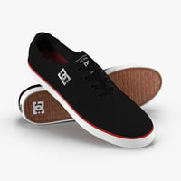 3D model dc shoes - flash