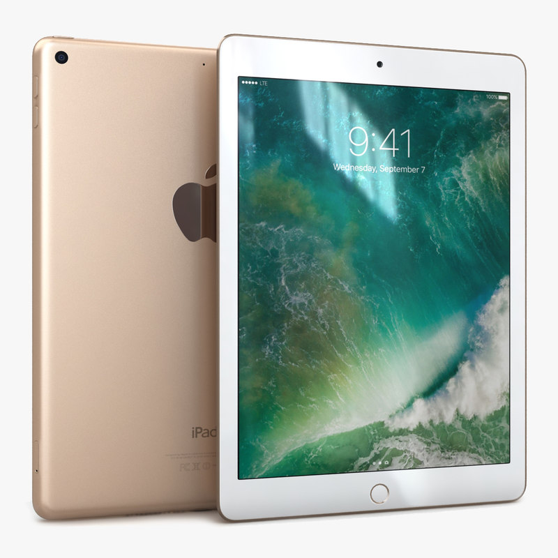 3D apple ipad 9 7
