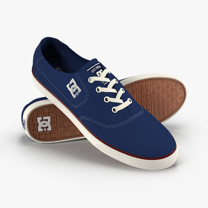 3D dc shoes - flash model