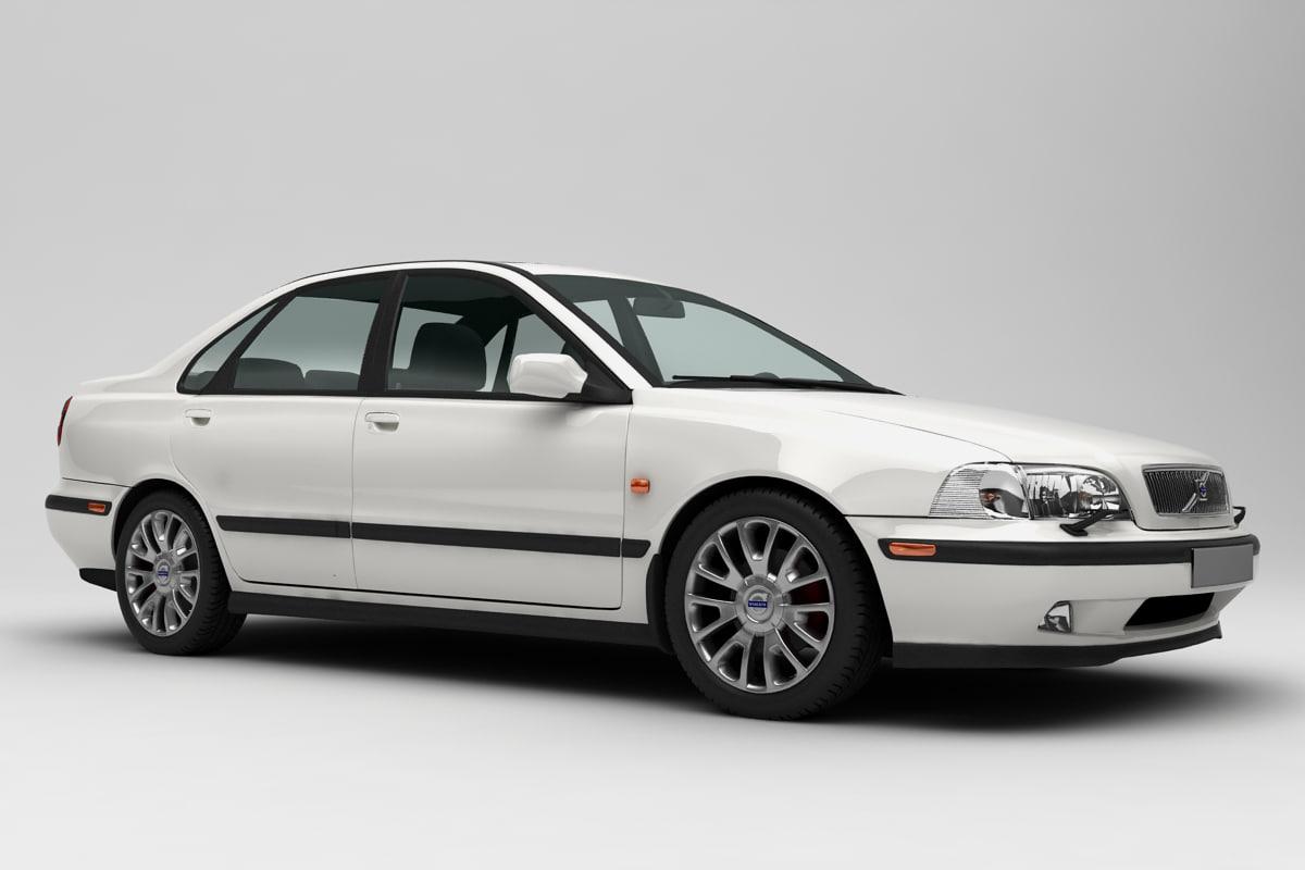 s40 sedan 3D model