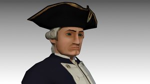3D captain cook