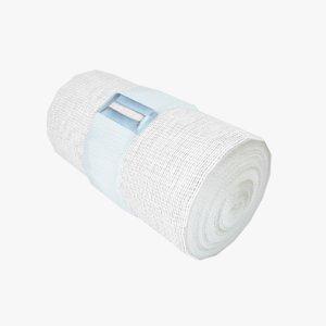 3D model bandage elastic