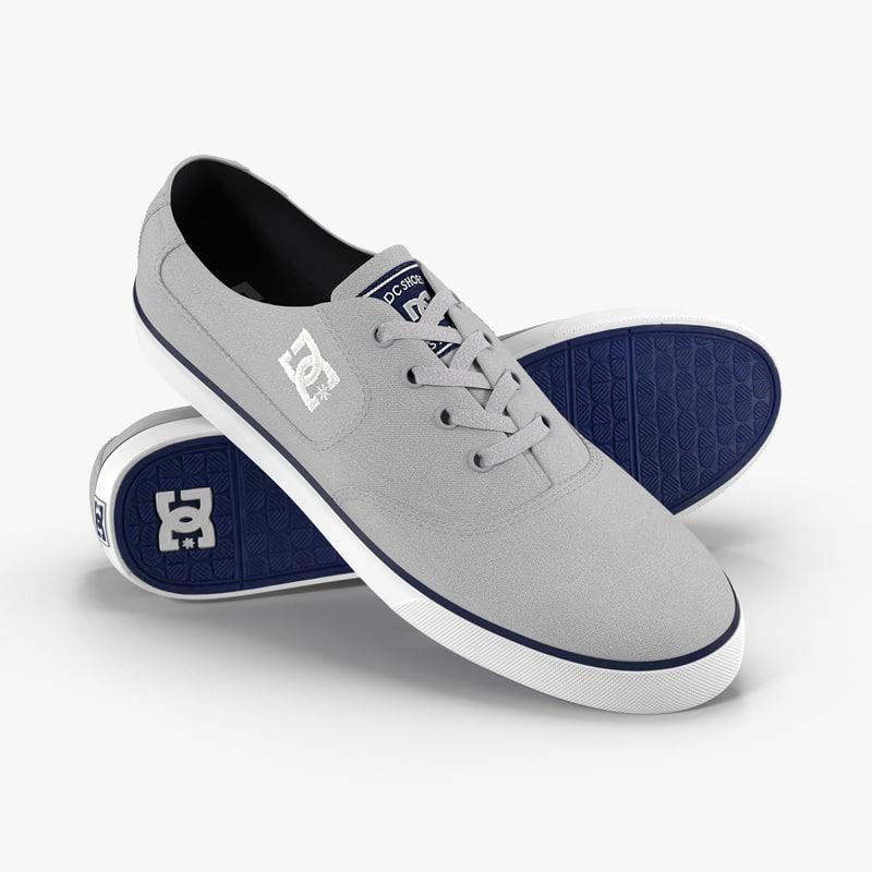 dc shoes - flash 3D model