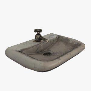 3D sink ready model