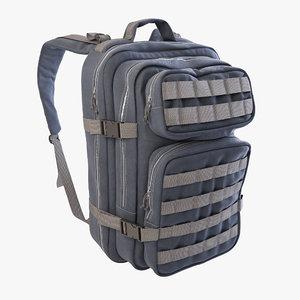 3D backpack