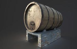 ready wine barrel model
