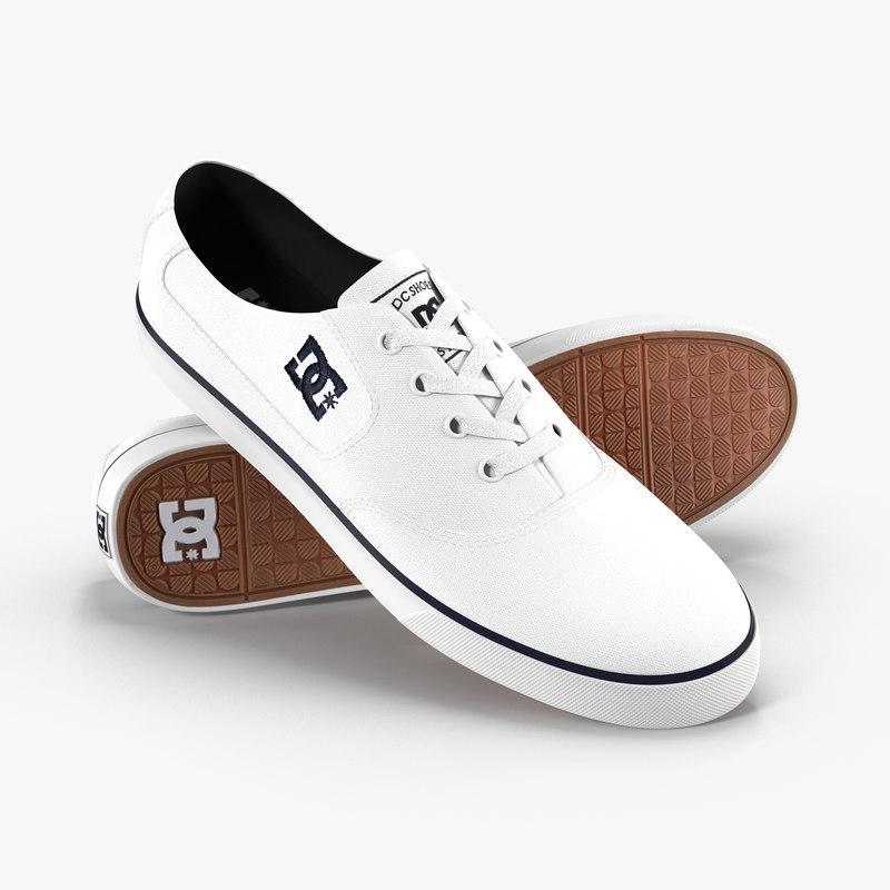 3D dc shoes - flash model