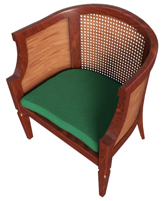 3D furniture chair model