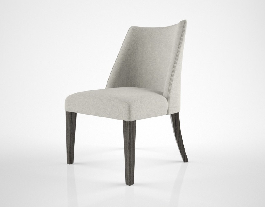 oasis musa dining chair 3D model