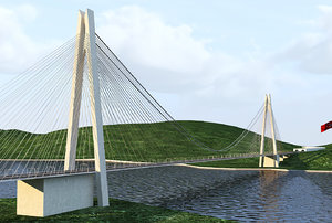 yavuz sultan selim bridge model