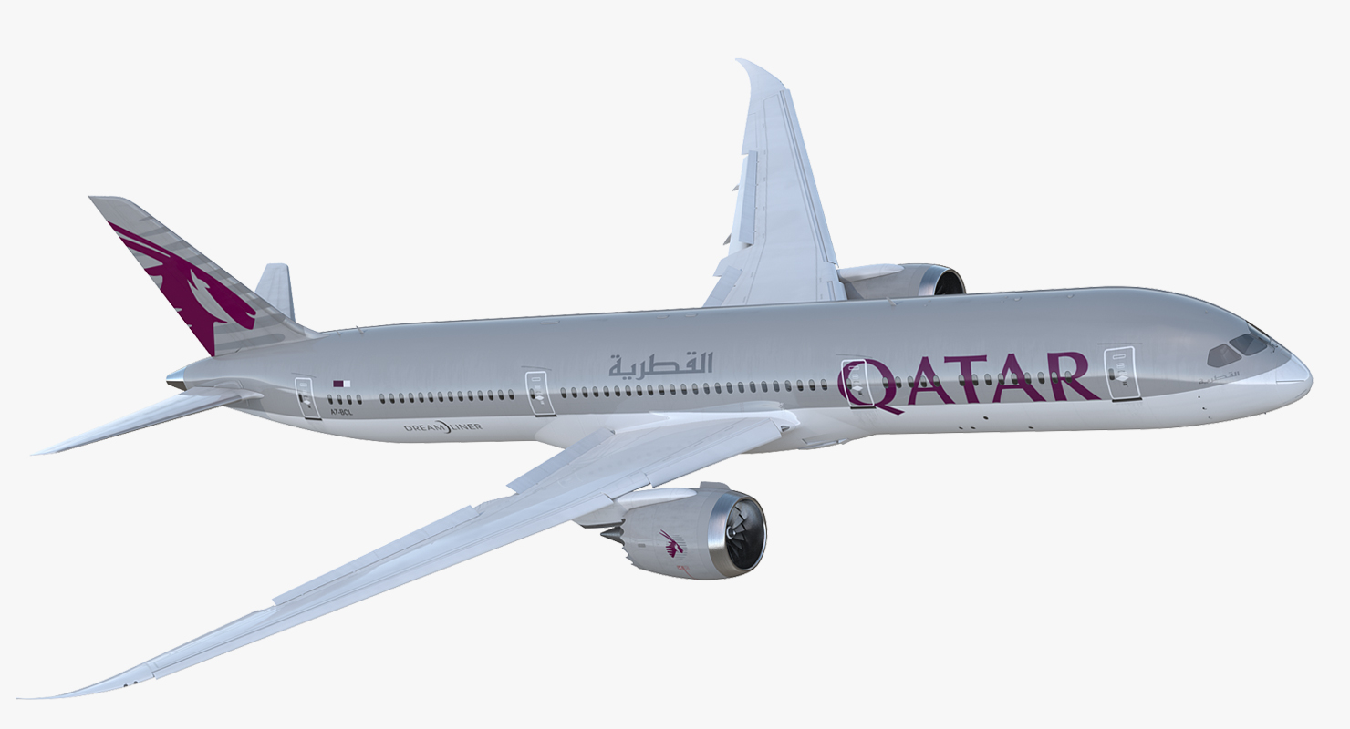Image result for qatar airways Boeing 787 png