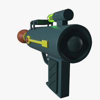 ricks raygun 3D model