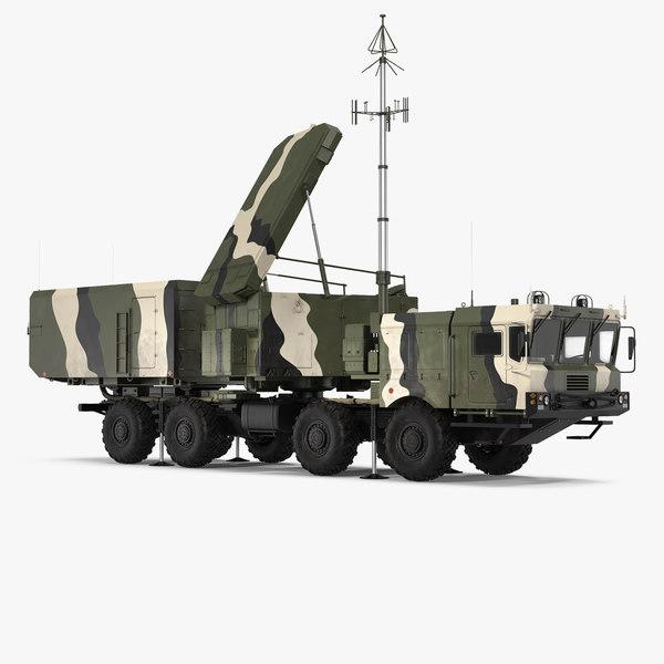 mobile radar station 96l6 3D model