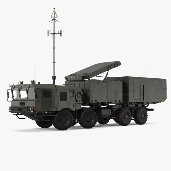 multi functional radar 92n2e 3D