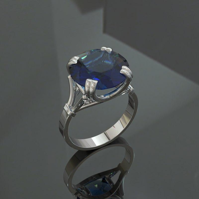 ring elegant 3D model