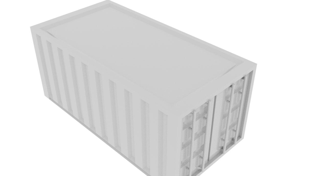 cargo conteiner 3D model