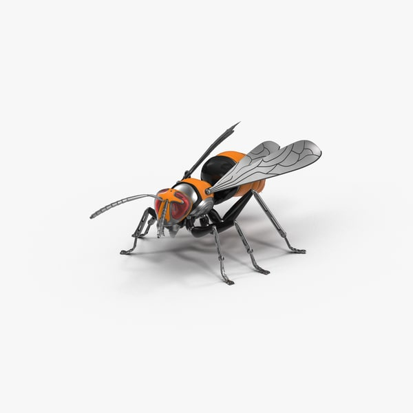 robotic wasp model