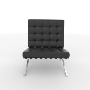 3D barselona chair