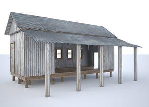 boat house 3D model