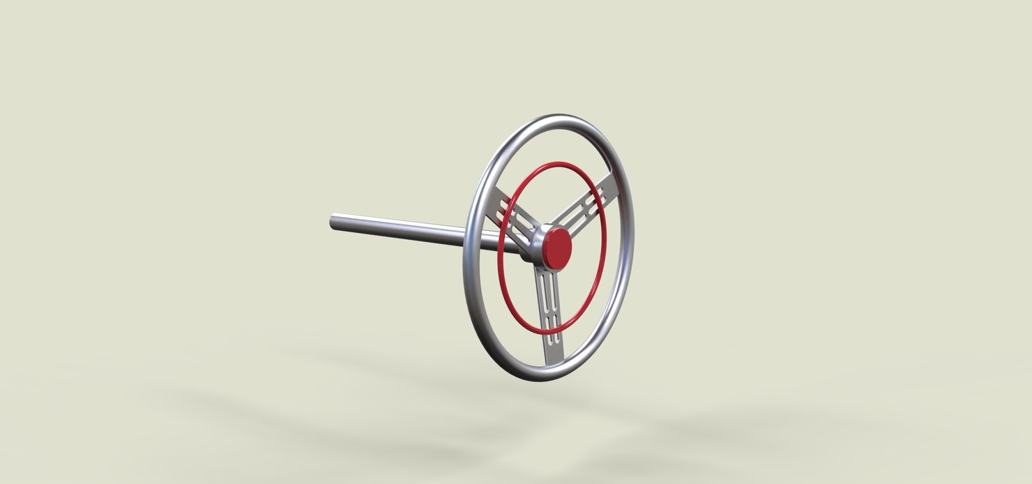 3D wheel stearing