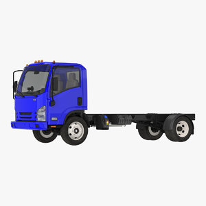 commercial truck generic simple 3D model