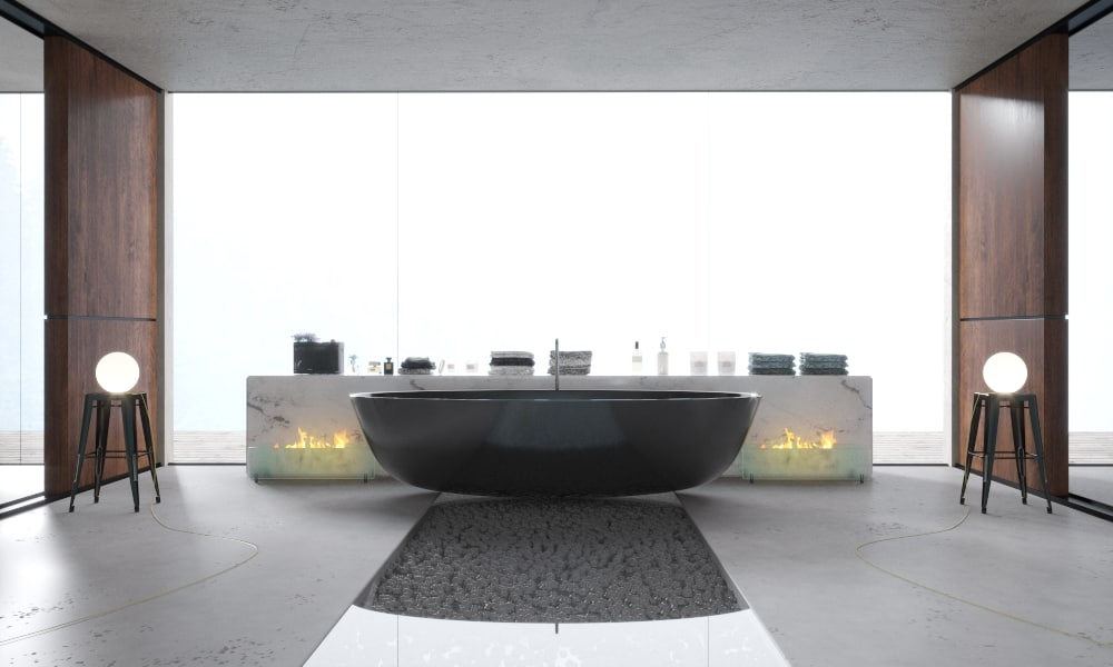 3D modern interior bath