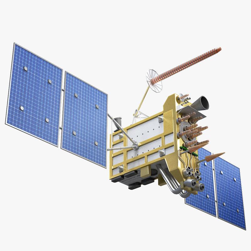 satellite glonass k2 model
