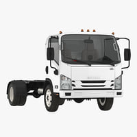 Commercial Truck Isuzu NPR 2018 Simple Interior