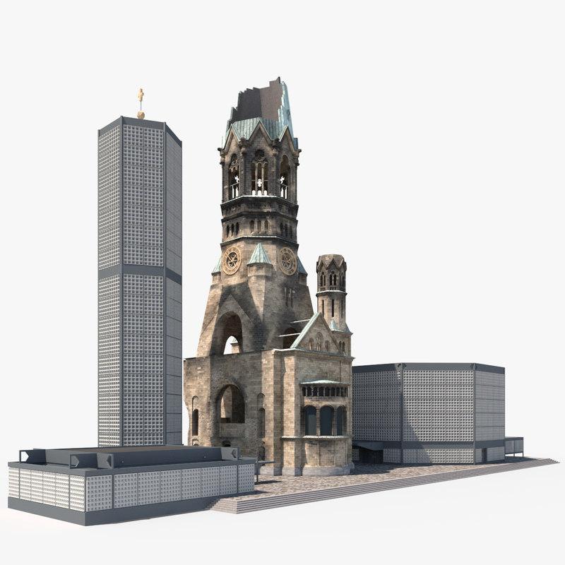 3D kaiser wilhelm memorial church