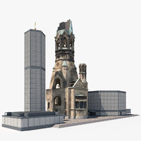 3D kaiser wilhelm memorial church