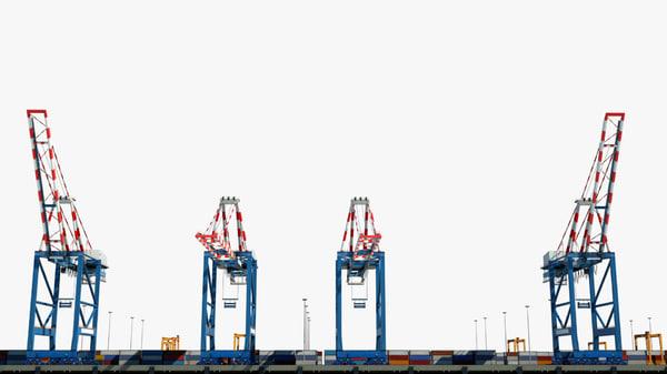 sea port 3D