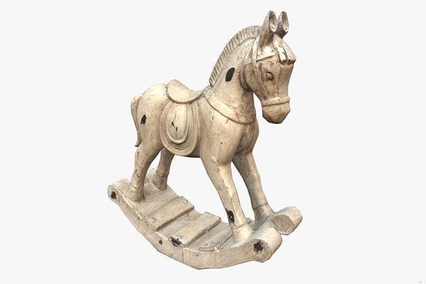 3D decorative horse