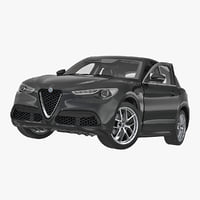 Alfa Romeo Stelvio 2017 Rigged
