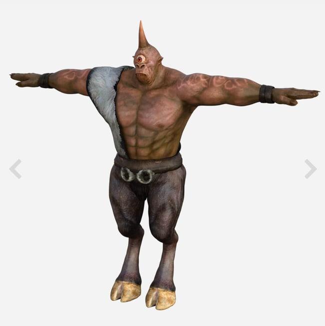 3D cyclops