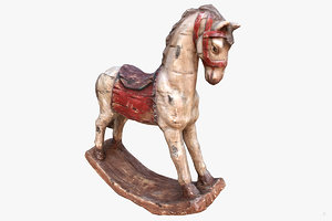 3D decorative horse