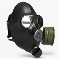 gas mask 3D